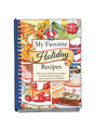 View My Favorite Holiday Recipes - Blank Cookbook